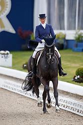 ANDRAS Ruth (GER), Bormio<br /> Hagen - Horses and Dreams meets the Royal Kingdom of Jordan 2018<br /> Einlaufprüfung Nürnberger Burg Pokal<br /> 26 April 2018<br /> www.sportfotos-lafrentz.de/Stefan Lafrentz