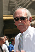 Jim Leyland at the Major League Baseball All-Stars and 49 Hall of Famers ride up Sixth Avenue in All Star-Game Red Carpet Parade Presented by Chevy on July 15, 2008