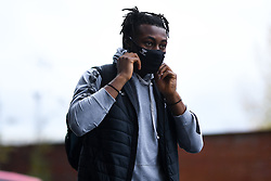 Antoine Semenyo of Bristol City arrives at Ashton Gate Stadium prior to kick off - Mandatory by-line: Ryan Hiscott/JMP - 31/10/2020 - FOOTBALL - Ashton Gate Stadium - Bristol, England - Bristol City v Norwich City - Sky Bet Championship