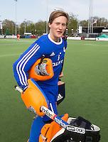 AMSTELVEEN - BOB HOOPMAN. Oefenwedstrijd tussen het Nederlands Team Jongens B tegen Bloemendaal A1. COPYRIGHT KOEN SUYK
