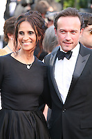 Karine Silla Perez and Vincent Perez at the 'Behind The Candelabra' gala screening at the Cannes Film Festival  Tuesday 21 May 2013