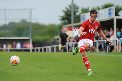 Joe Bryan of Bristol City - Photo mandatory by-line: Dougie Allward/JMP - Mobile: 07966 386802 - 05/07/2015 - SPORT - Football - Bristol - Brislington Stadium - Pre-Season Friendly