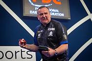 Glen Durrant (England) wins, celebrates, during the William Hill World Darts Championship at Alexandra Palace, London, United Kingdom on 28 December 2020.