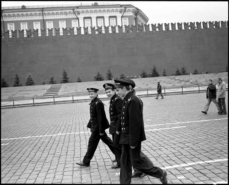 All photographs in that series were made on the streets of Moscow in the period from 1999 to 2010