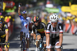 July 4, 2017 - Mondorf Les Bains / Vittel, Luxembourg / France - VITTEL, FRANCE - JULY 4 : NAESEN Oliver (BEL) Rider of Team AG2R La Mondiale during stage 4 of the 104th edition of the 2017 Tour de France cycling race, a stage of 207.5 kms between Mondorf-Les-Bains and Vittel on July 04, 2017 in Vittel, France, 4/07/2017 (Credit Image: © Panoramic via ZUMA Press)