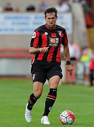 Bournemouth's Charlie Daniels  - Photo mandatory by-line: Harry Trump/JMP - Mobile: 07966 386802 - 18/07/15 - SPORT - FOOTBALL - Pre Season Fixture - Exeter City v Bournemouth - St James Park, Exeter, England.