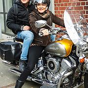 NLD/Amsterdam/20150618 - Voorvertoning Satudarah – One Blood documentaire, Mylene de la Haye met zoon Julius