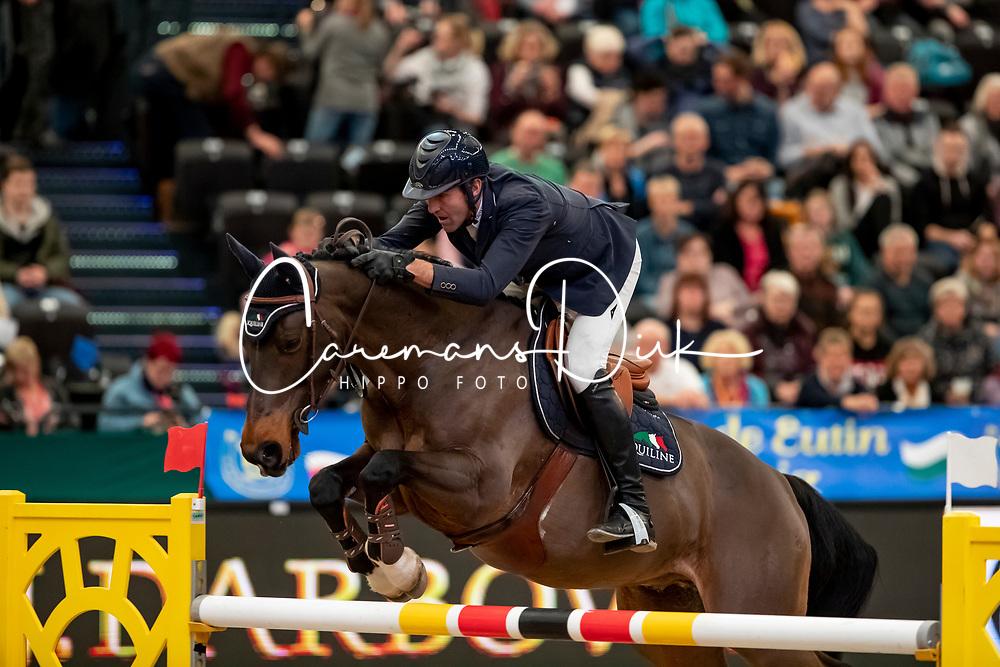 Moneta Luca Maria, ITA, Connery<br /> Leipzig - Partner Pferd 2019<br /> © Hippo Foto - Stefan Lafrentz