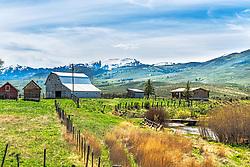 Portneuf Valley Farm, Lave Hot Springs, Idaho
