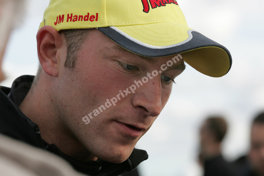 Michael Outzen (BMW) on the grid before round six of the 2007 DTC at the Jyllands-Ringen in september. Photo: Grand Prix Photo