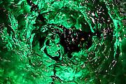Jindrichuv Hradec/Tschechische Republik, Tschechien, CZE, 31.08.2007: Das Unternehmen Hill´s Liquere S.R.O. wurde 1920 von Albin Hill  gegründet. Die Tradition wurde 1947 von Radomil Hill weitergeführt - heute wird das Unternehmen von seiner Tochter Ilona Musialova geleitet. Absinth vor der Abfüllung in Flaschen.<br /> <br /> Jindrichuv Hradec/Czech Republic, CZE, 31.08.2007: Albin Hill established Hill's Liguere in 1920. He started out as a wine wholesaler and soon after he began producing his own liquor and liqueurs. In 1947 his son Radomil Hill continues this tradition and today his daughter Ilona Musialova is leading the company. Absinth before getting bottled.