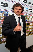 Fotball<br /> Italia<br /> Foto: Inside/Digitalsport<br /> NORWAY ONLY<br /> <br /> Leonardo nuovo allenatore del Milan <br /> <br /> Milano 01/06/2009