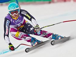 08-02-2011 SKIEN: FIS ALPINE WORLD CHAMPIONSSHIP: GARMISCH PARTENKIRCHEN<br /> Julia MANCUSO (USA) during Women Super G, Fis Alpine Ski World Championships in Garmisch Partenkirchen<br /> **NETHERLANDS ONLY**<br /> ©2011-WWW.FOTOHOOGENDOORN.NL/NPH- J. Groder