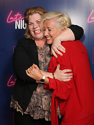 (left to right) Katy Brand and Dame Emma Thompson attending the LATE NIGHT Gala Screening at Picture House Central, London. Picture dated: Monday May 20, 2019. Photo credit should read: Isabel Infantes / EMPICS Entertainment.