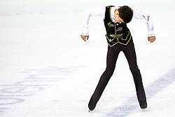 Dmitri Aliev of Russia at ISU Junior Grand Prix of Figure Skating Ljubljana Cup 2014 on August 29, 2014 in Hala Tivoli, Ljubljana, Slovenia. Photo by Matic Klansek Velej / Sportida