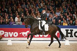 Franckx Tom (NED) - Westenwind<br /> KWPN Stallion Selection - 's Hertogenbosch 2014<br /> © Dirk Caremans