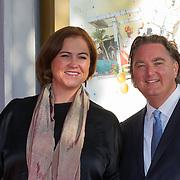 NLD/Amsterdam/20150926 - Afsluiting viering 200 jaar Koninkrijk der Nederlanden, Erwin van Lambaart en partner Pien
