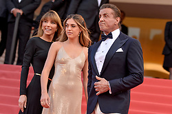 Jennifer Flavin, Sophia Rose Stallone, Sylvester Stallone attending the Closing Ceremony of the 72nd Cannes Film Festival in Cannes, France on May 25, 2019. Photo by Julien Reynaud/APS-Medias/ABACAPRESS.COM