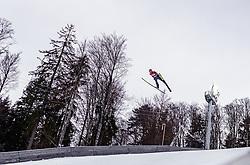 02.02.2019, Heini Klopfer Skiflugschanze, Oberstdorf, GER, FIS Weltcup Skiflug, Oberstdorf, im Bild Richard Freitag (GER) // Richard Freitag of Germany during his Jump of FIS Ski Jumping World Cup at the Heini Klopfer Skiflugschanze in Oberstdorf, Germany on 2019/02/02. EXPA Pictures © 2019, PhotoCredit: EXPA/ JFK