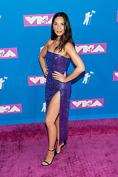 August 21, 2018 - New York City, New York, USA - 8/20/18.Olivia Munn at the 2018 MTV Video Music Awards at Radio City Music Hall in New York City. (Credit Image: © Starmax/Newscom via ZUMA Press)