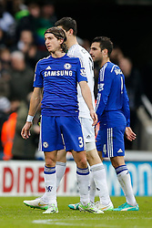 Filipe Luis of Chelsea looks dejected after Newcastle win 2-1 to inflict a first defeat in all competitions this season on Chelsea - Photo mandatory by-line: Rogan Thomson/JMP - 07966 386802 -06/12/2014 - SPORT - FOOTBALL - Newcastle, England - St James' Park - Newcastle United v Chelsea - Barclays Premier League.