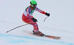 17.02.2011, Kandahar, Garmisch Partenkirchen, GER, FIS Alpin Ski WM 2011, GAP, Riesenslalom, im Bild Jean Pierre Roy (HAI) // Jean Pierre Roy (HAI) during Giant Slalom Fis Alpine Ski World Championships in Garmisch Partenkirchen, Germany on 17/2/2011. EXPA Pictures © 2011, PhotoCredit: EXPA/ J. Groder
