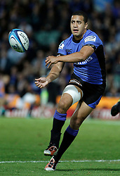 Willie Ripia -Western Force during action from Round 11 of Super Rugby between the Western Force v Crusaders - April 30th,2011.Played at NIB Stadium Perth Western Australia.Conditions of Use - this image is intended for editorial use only (print or electronic).Any Further use requires additional clearance. Photo SMP Images (THERON KIRKMAN)