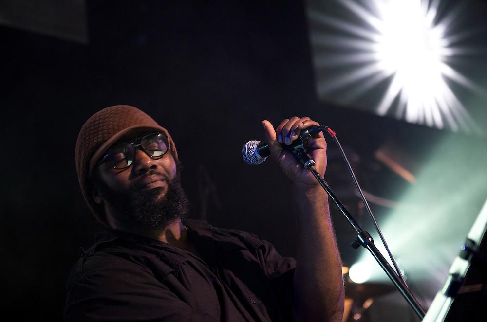 Hip hop / jazz ensemble The Megaphones, live in Nashville, TN