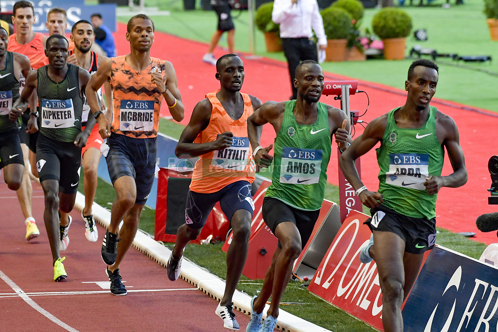 July 20, 2018 - Monaco - 800 metres hommes - Harun Abda (Etat Unis) - Nijel Amos (Botswana) - Jonathan Kitlit (Kenya) - Brandon McBride (Canada) - Alfred Kipketer  (Credit Image: © Panoramic via ZUMA Press)