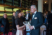 LADY SARAH CHATTO; PHILIP HOOK;, The London Library Annual  Life in Literature Award 2013 sponsored by Heywood Hill. The London Library Annual Literary dinner. London Library. St. james's Sq. London. 16 May 2013.