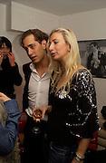 "Ryan Prince and Jenny Halpern, Launch Party Matthew Mellon's ""Harry's of London"" A New Line Of Men's Shoes. December 1, 2003 - Harvey Nichols. London, <br />© Copyright Photograph by Dafydd Jones 66 Stockwell Park Rd. London SW9 0DA Tel 020 7733 0108 www.dafjones.com"