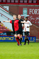 Ecclesfield V Newfield Clegg Cup Final at Bramall Lane on Wednesday evening Ecclesfield in Red & Black won 6-2.15 May 2013.Image © Paul David Drabble.www.pauldaviddrabble.co.uk