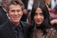 Actor Willem Dafoe and Giada Colagrande at the Closing Palm D'Or Awards Ceremony at the 69th Cannes Film Festival, Sunday 22nd May 2016, Cannes, France. Photography: Doreen Kennedy