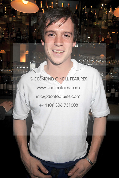 JOHNNIE COLLINS at the opening of the Brompton Bar & Grill, 243 Brompton Road, London SW3 on 11th March 2009.