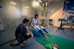 George Michèle, BEL, Benoit Nicolas, Expertise et Aide à la Performance Sportive <br /> Inspanningstesten Tokyo Olympics <br /> Université Catholique de Louvain-La-Neuve 2020<br /> © Hippo Foto - Dirk Caremans<br /> 10/03/2020