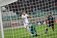 Gol Edin Dzeko Roma 0-2 Goal celebration <br /> Baku 27-09-2017 Football Champions League 2017/2018 Group C Qarabag - AS Roma Foto Gino Mancini/Insidefoto