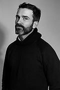 Daniel Roseberry photographed at his studio in New York City. Artistic Director at Schiaparelli