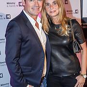 NLD/Laren/20151101 - 10de Free a Girl gala 2015, Jeroen van der Boom en partner Dany de Wit