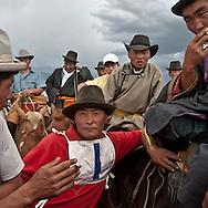 Mongolia. first polo championship in  , in IKH UD near  Hahorin -    / premier championnat de Polo de Mongolie a IKH UD pres de  karakorum - Mongolie   / L0009366 /  /   /  / premier championnat de Polo de Mongolie  karakorum  Mongolie   /  /     /  /   /  / L0009366