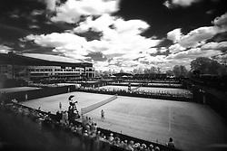 8 July 2017 - Wimbledon Tennis (Day 6) - A general view (gv) of Wimbledon as seen through an infrared filter - Photo: Charlotte Wilson