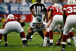 18 Jan 2009: Philadelphia Eagles defensive tackle Trevor Laws #93 during the NFC Championship game against the Arizona Cardinals on January 18th, 2009. The Cardinals won 32-25 at University of Phoenix Stadium in Glendale, Arizona. (Photo by Brian Garfinkel)