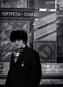 Chris Salewicz  in Moscow - USSR - 1988
