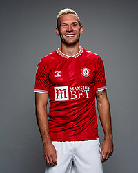 Andreas Weimann as Bristol City release their Home Shirt ahead of the 2020/21 Sky Bet Championship Season season - Rogan/JMP - 31/08/2020 - Ashton Gate Stadium - Bristol, England - Sky Bet Championship.