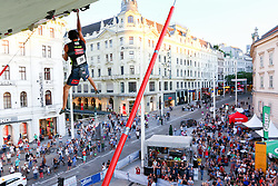 31.07.2015, Mariahilfer Straße, Wien, AUT, ISFC, Free Solo Masters MAHÜ, Vorqualifikation, im Bild Ali Bartzadeh // during the prequalification of the ISFC Free Solo Masters MAHÜ at the Mariahilfer Straße in Vienna, Austria on 2015/07/31. EXPA Pictures © 2015, PhotoCredit: EXPA/ Sebastian Pucher
