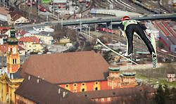 03.01.2013, Bergisel Schanze, Innsbruck, AUT, FIS Ski Sprung Weltcup, 61. Vierschanzentournee, Training, im Bild Andreas Wank (GER) // Andreas Wank of Germany during practice Jump of 61th Four Hills Tournament of FIS Ski Jumping World Cup at the Bergisel Schanze, Innsbruck, Austria on 2013/01/03. EXPA Pictures © 2012, PhotoCredit: EXPA/ Juergen Feichter