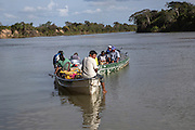 The Rupununi river is crucial in the Makushi community life because of fishes, transport, animals ...
