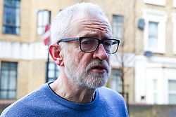 © Licensed to London News Pictures. 04/01/2020. London, UK. Leader of Labour Party and MP for Islington North, JEREMY CORBYN is seen in north London. Photo credit: Dinendra Haria/LNP