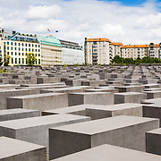 Memorial to the Murdered Jews of Europe (Denkmal für die ermordeten Juden Europas). A memorial in Berlin to the Jewish victims of the Holocaust, designed by architect Peter Eisenman and engineer Buro Happold. The stelae are designed to produce an uneasy, confusing atmosphere, and the whole sculpture aims to represent a supposedly ordered system that has lost touch with human reason.