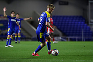 AFC Wimbledon midfielder Jack Rudoni (12) about to score goal during the EFL Sky Bet League 1 match between AFC Wimbledon and Gillingham at Plough Lane, London, United Kingdom on 23 February 2021.