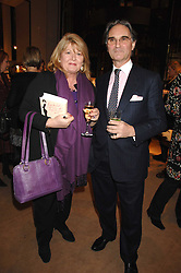 COLIN & LINDY WOODHEAD at a party to celebrate the publication of Lucia Van Der Post's  book 'Things I Wish My Mother Had Told Me' held at Asprey, New Bond Street, London on 8th November 2007.<br /><br />NON EXCLUSIVE - WORLD RIGHTS